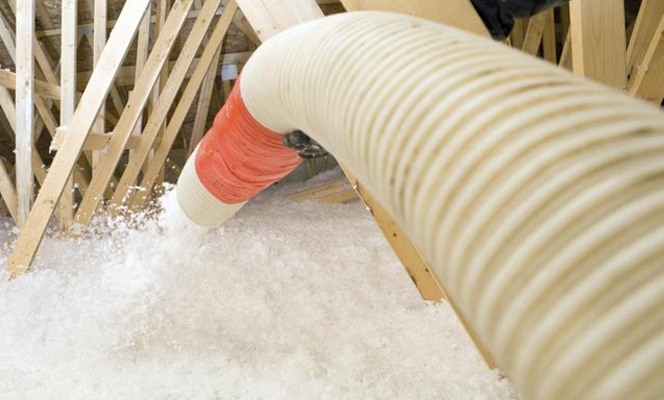 Cut my kilowatts blown insulation company for Loose fill insulation r value